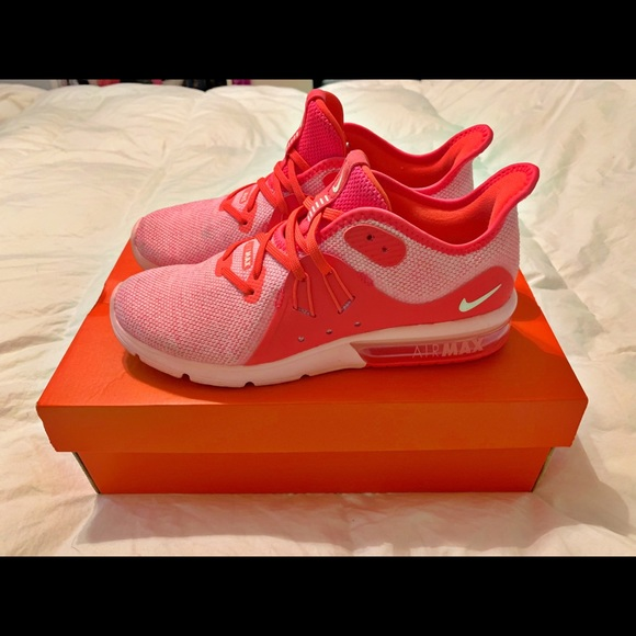 adcdccb1a5 Nike Shoes | Air Max Seq 3 Pink Size 75 Womens | Poshmark